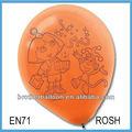 La promotion des ventes grands ballons d'hélium, machine pour gonfler les ballons