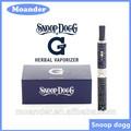 2014 nueva llegada snoop dogg a base de hierbas vaporizador, snoop dogg g micro pluma