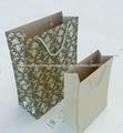 bolsa de papel kraft inexperiencia envase paño hecho en china