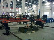 máquina de trabajo pesado pórtico CNC metal de la placa de corte