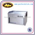 Comercial plancha eléctrica( de placa plana)/cocina teppanyaki