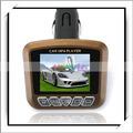 1.8- pulgadas 4in1 forma cuadrada del coche mp4 con modulador de fm café