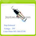 Parada del motor de solenoide de lister y petter 366-07198