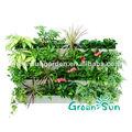 jardín interior verde hidropónico recipiente de pared decorativos de plástico colgando planta de maceta