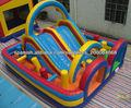 venta caliente carrera de obstáculos inflables para niños y zona de juegos para adultos