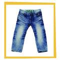 Las niñas 2014 100% de algodón pantalones vaqueros de pantalón largo pantalones vaqueros jeans de diseño