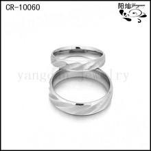 Venta al por mayor anillo de compromiso de anillos de compromiso de plata