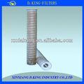Sistema de filtro de agua de alimentación