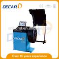 decar lcd ce roda balancer wb150 usado máquina de balanceamento