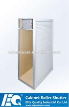 de promoción elegante cocina de aluminio decorativo de la puerta de persiana