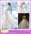 bola vestido de novia de encaje sin mangas la longitud del piso de la princesa de tul vestido de novia estilo( hs103)