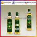 etiqueta del aceite