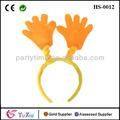fiesta de navidad de lujo del partido diadema con la mano en cinta para la cabeza