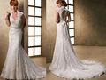 2013 del apagado-hombro piso-longitud de los vestidos de boda