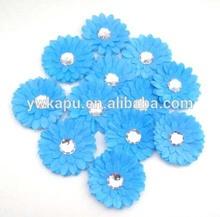 Falso multicolor flor de la margarita, margarita flores artesanales, tela de flores para los sombreros