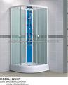 Cabina de ducha de vidrio templado