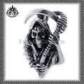 nuevo estilo de acero inoxidable stp024 cráneo ancianos colgante en forma de
