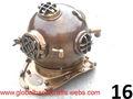 casco de buceo náutica,latón casco de buceo,antiguo casco de buceo,decoración náutica