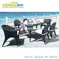 Cafe francés de mesa y sillas yg-8012