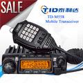 Dmtf td-m558 radio de coche barato de radio de vhf y uhf de radio móvil