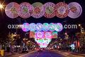 Color Rico Luz de la Calle de la Navidad