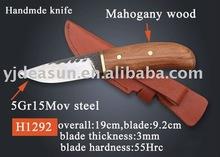 H1292 hecho a mano cuchillo de supervivencia