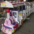 los trenes del parque de atracciones