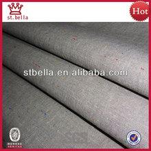 Hilo algodón 100% teñido de color de punto de cambray tejido de la tela para la camisa