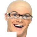 X- merry falsos de látex de goma de la cabeza calva la tapa peluca skinhead baldy vestido de lujo evil dr bane máscara