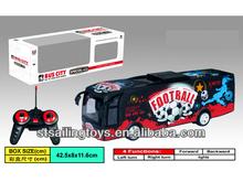 rc 4ch autobús de fútbol con la luz