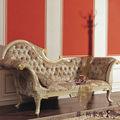 mano antiguos muebles de madera tallada - derechos de lujo sólido lounge madera artesanal chaise
