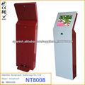 Soporte táctil quiosco LCD productos de kiosco comercial solos