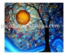 Hecho a mano de pintura al óleo( paisaje)