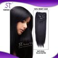 6A grado de seda de alta calidad extensión brasileña del pelo
