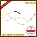 Baratos op0806 marcos de anteojos para las mujeres, gafas vintage