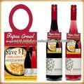 etiquetas de cuello de botella de vino
