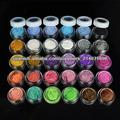 Venta al por mayor 30 colores de sombra de ojos Glitter Powder brillante maquillaje pigmento 2438#