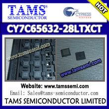 (CYPRESS HX2VL™ Very Low Power USB 2.0 Hub Controller) CY7C65632-28LTXCT