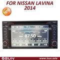 nissan lavina 2014 del coche sistema de entretenimiento multimedia