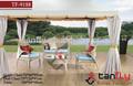 Tf-9188 del ocio clásico 100% hechos a mano todo tipo de clima de patio de jardín de ratán muebles de golf