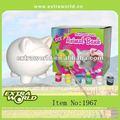 bricolaje de cerdo de cerámica conjunto de pintura para el hogar decoratian