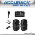 250W Sistema PA de sonido portátil para venta PML15L-620KIT