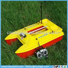 2014 haoyazhi nuevo producto de la pesca del rc barco de cebo