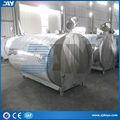 tanque para conservación de la leche de acero inoxidable