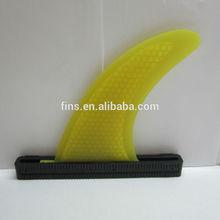 amarillo de nido de abeja centro aletas bodyboard