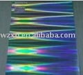 holográfica metalizado tejían pilar cartón