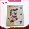 nueva llegada de navidad de regalo hecho a mano tarjetas de felicitación