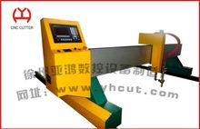 máquina tipo pórtico CNC llama placa de metal de corte