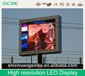 alta resolución llevó la pantalla de visualización video xxx pantalla de matriz china al aire libre de LED de punto