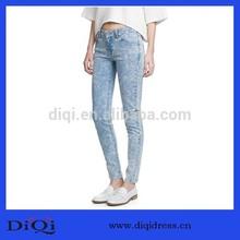 de la manera normal apretado diseño delgado la mujer pantalones vaqueros pantalones